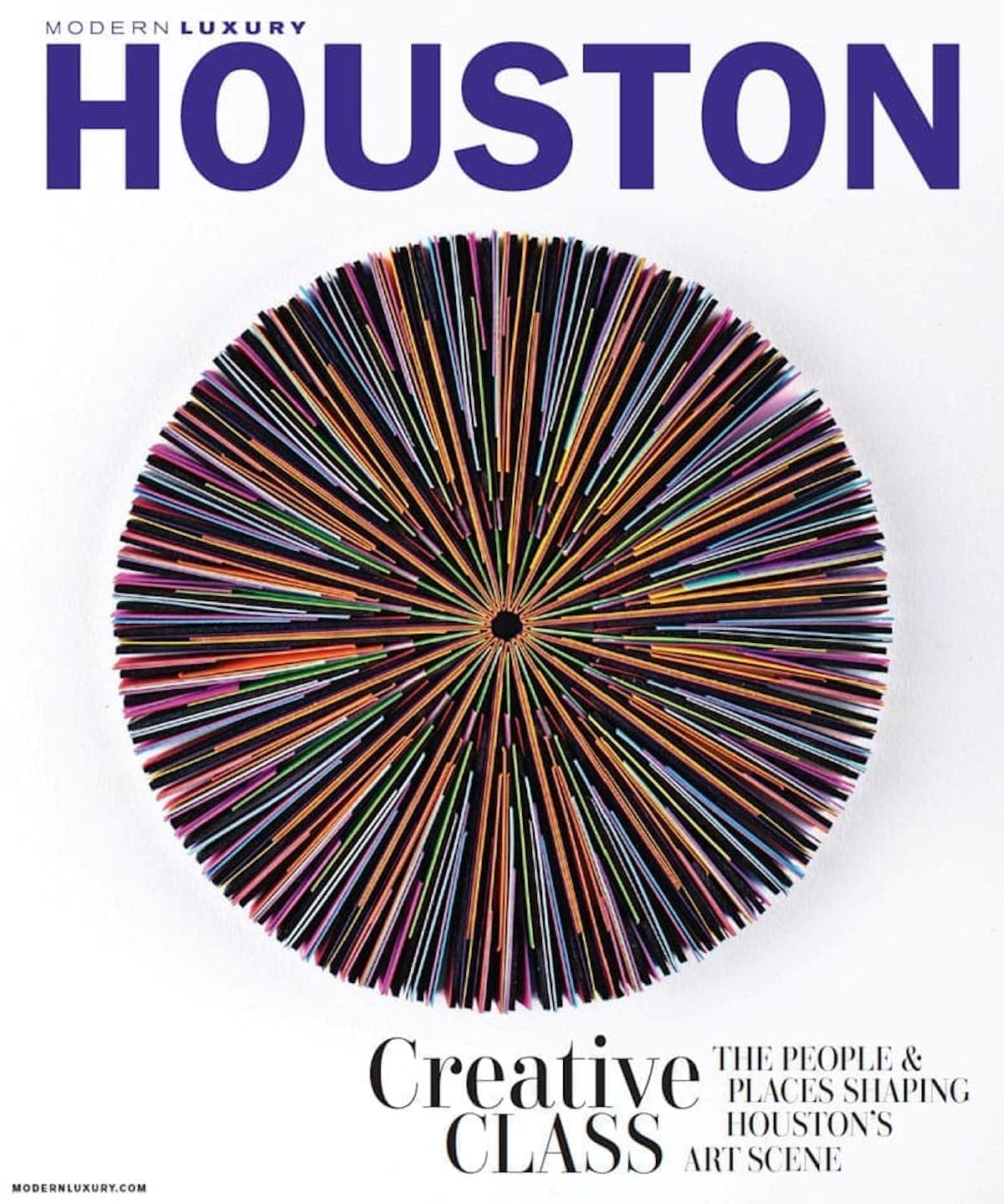Modern Luxury Houston Magazine Cover